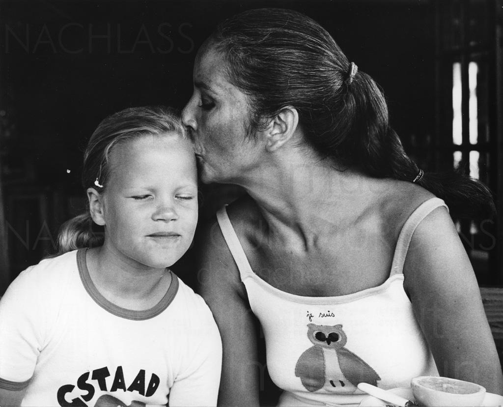 PR-Foto, Curd und Margie, St. Paul de Vence, 1979