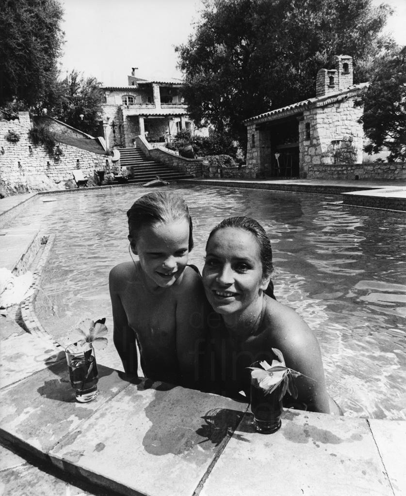 PR-Foto, Curd und Margie, St. Paul de Vence, 1979, 6