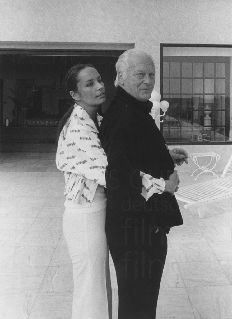 PR-Foto, Curd und Margie, St. Paul de Vence, 1976