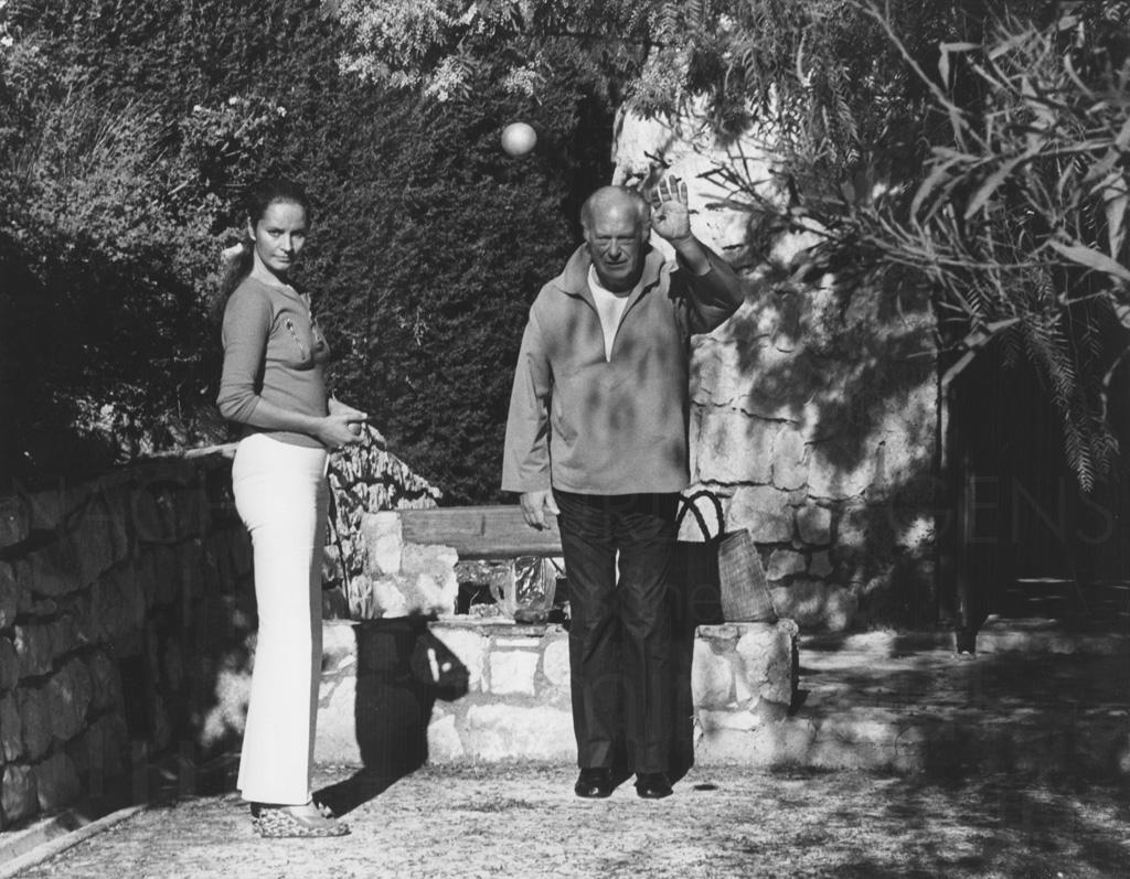 PR-Foto, Curd und Margie, Vence, 1977, 8 - Nachlass Curd