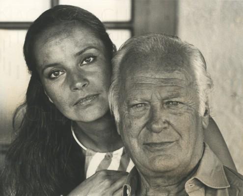 PR-Foto, Curd und Margie, St. Paul de Vence, 1978