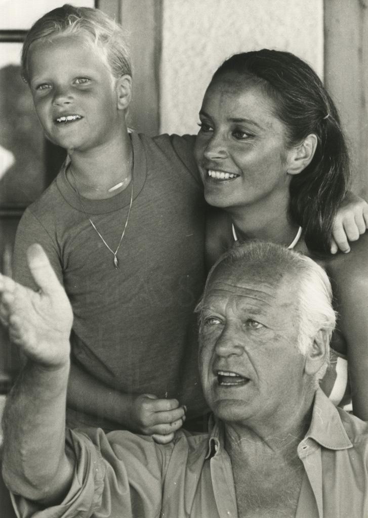 PR-Foto, Curd und Margie, St. Paul de Vence, 1978, 10