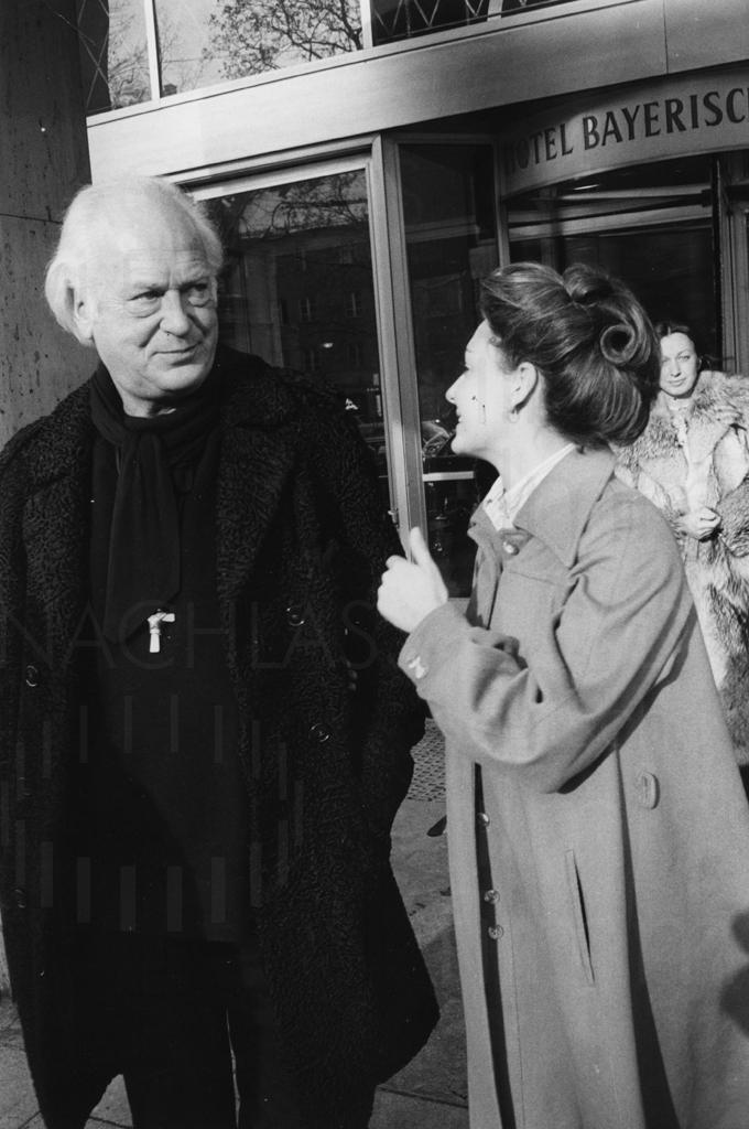 PR-Foto, Curd Jürgens und Marlene Knaus