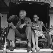 PR-Foto, Curd Jürgens und Emanuella Saner