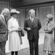 Curd Jürgens und Willy Brandt, 1971