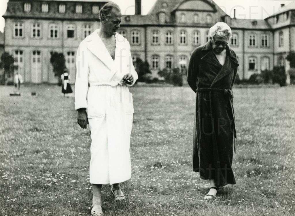 Curd Jürgens und Paul Hörbiger