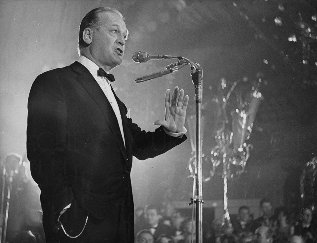 Erster öffentlicher Auftritt als Schlagersänger, München, 1960