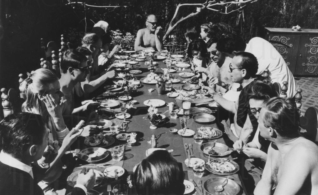 Curd mit Freunden, ca. 1963