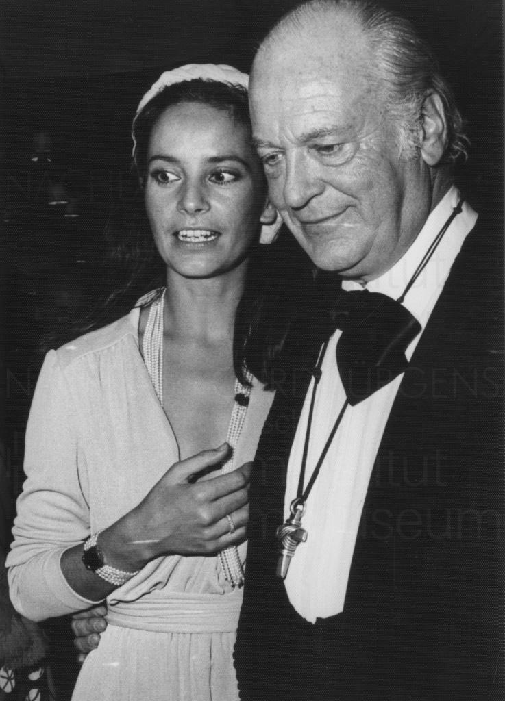 Curd Jürgens' 60. Geburtstag, Berlin, 1975