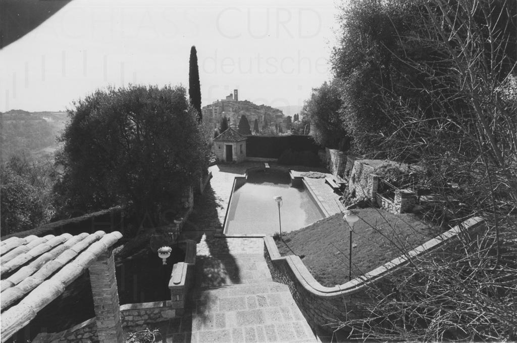 Curd Jürgens' Anwesen in St. Paul de Vence