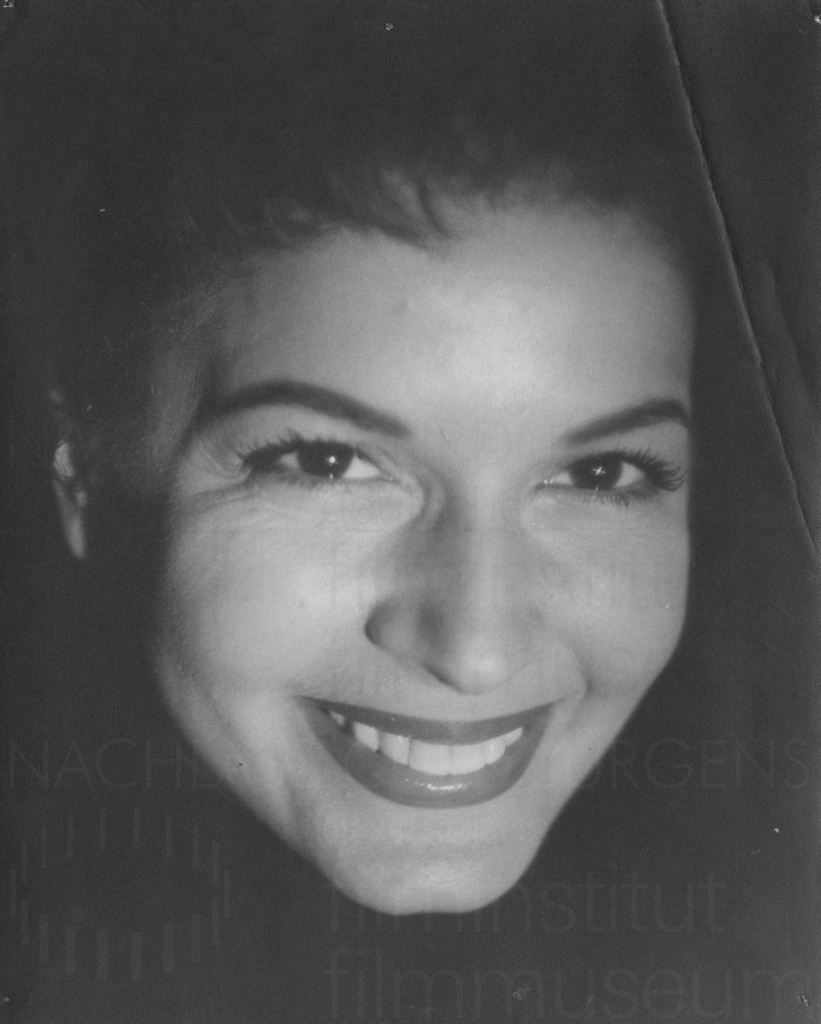 Eva Bartok, 1950er Jahre