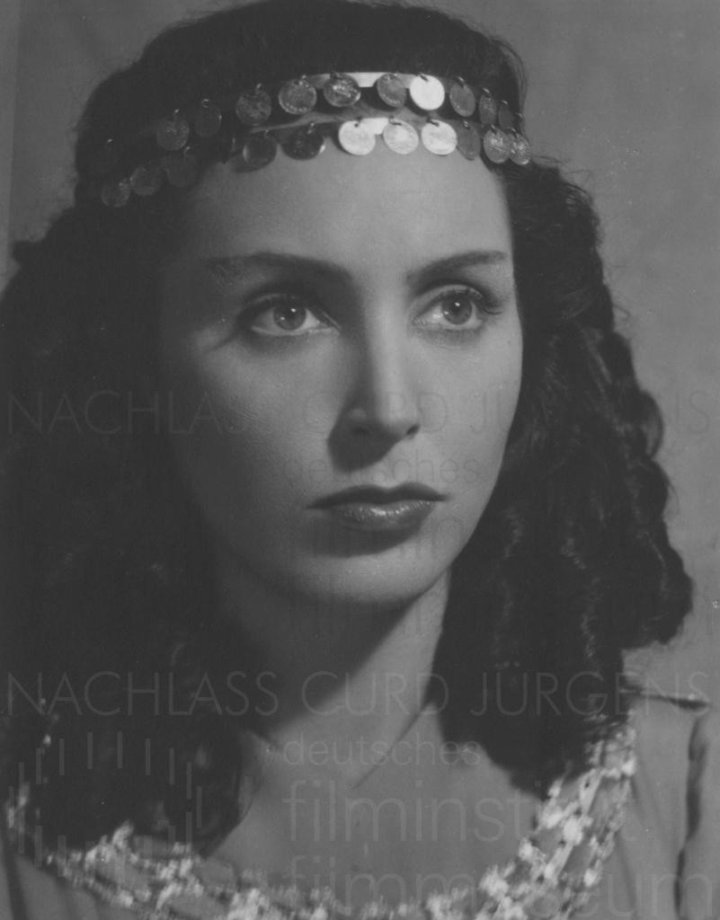 Judith Holzmeister, ca. 1940er Jahre