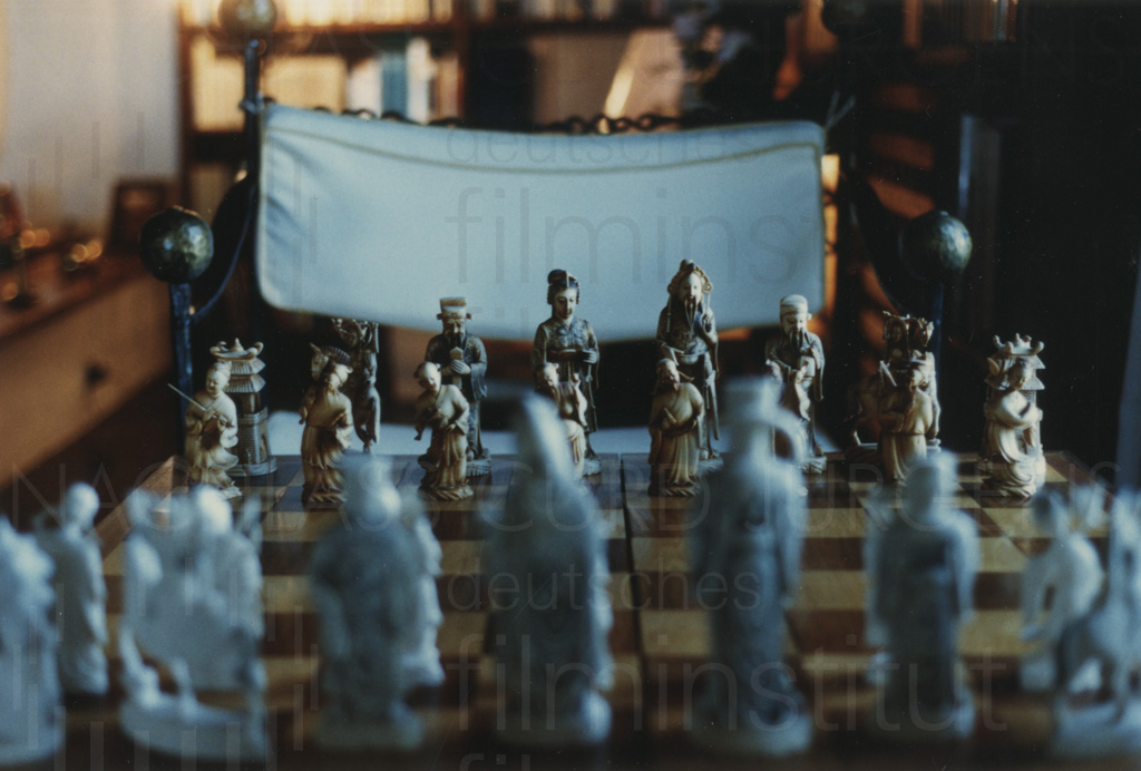 Curd Jürgens' Schachspiel