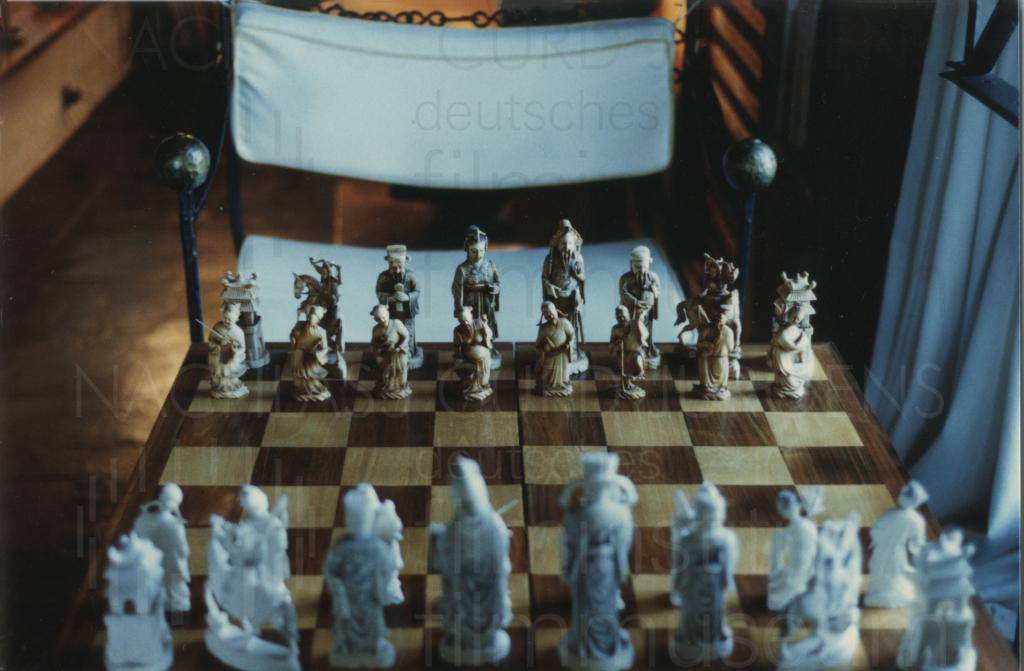 Curd Jürgens' Schachbrett