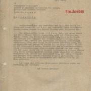 Curd Jürgens an die Information Control Division. [München], 7.10.1946
