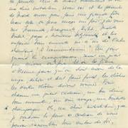 """Curd Jürgens an seine Mutter Marie-Albertine (""""Moussia""""), um Weihnachten 1946"""