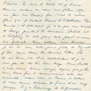 "Curd Jürgens an seine Mutter Marie-Albertine (""Moussia""). Graz [1949]"