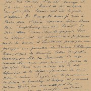 "Curd Jürgens an seine Mutter Marie-Albertine (""Moussia""). [Wien], 21.12.1947"
