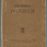 "Titel ""Frommes"" Tagebuch, 1947"