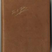 """Titel Tagebuch """"Für 5 Jahre"""", 1959-1964"""