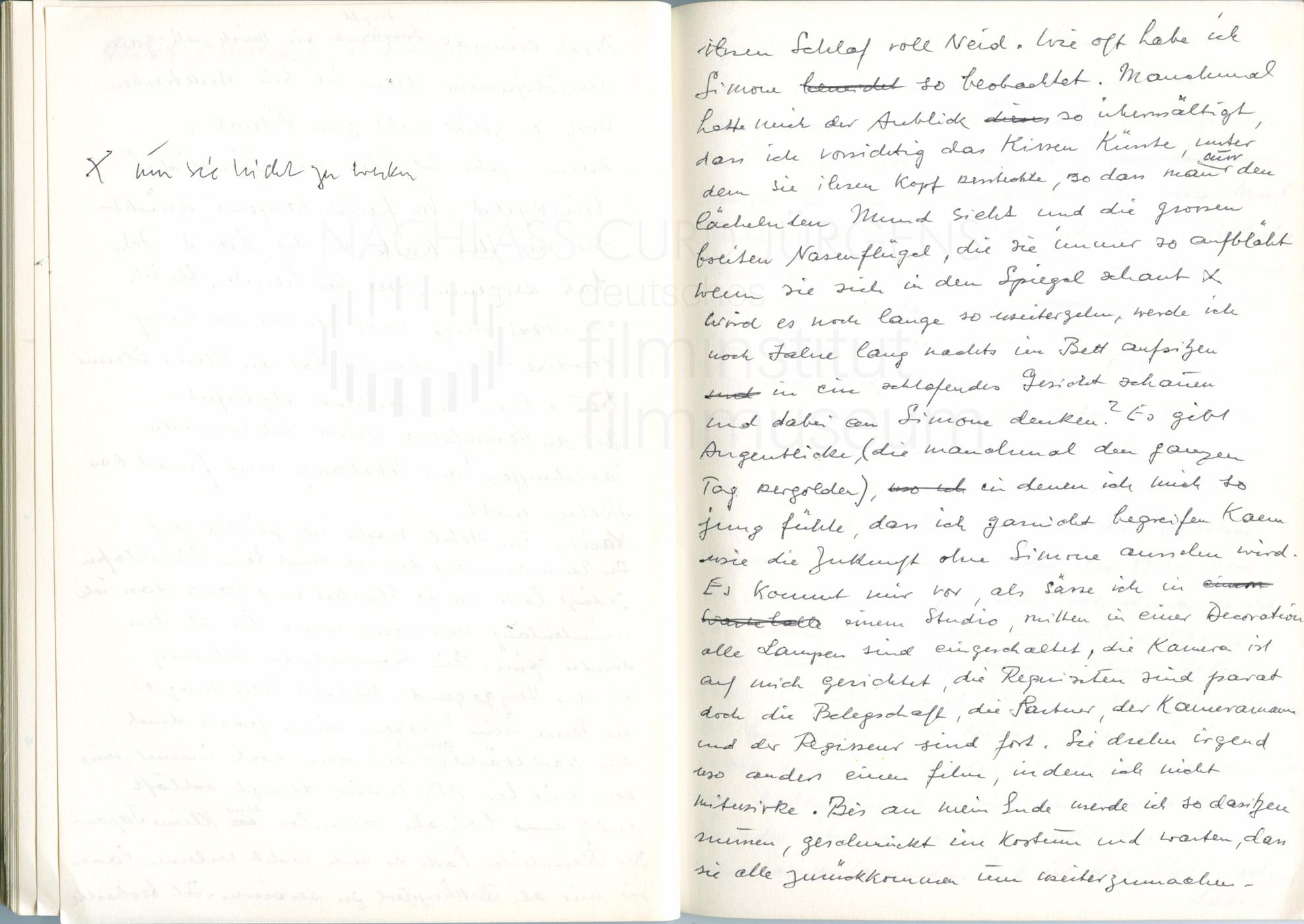 """Tagebuch """"Nachhilfestunden in Heimweh"""", 1972"""