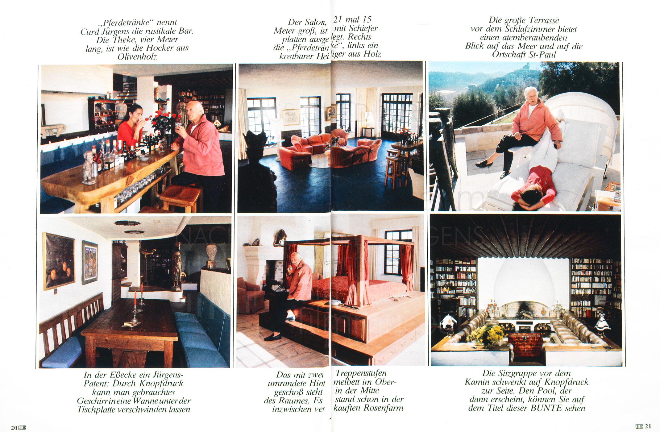 """Bunte: """"In diesem Haus stecken alle meine Träume"""", Nr. 14, 1977"""