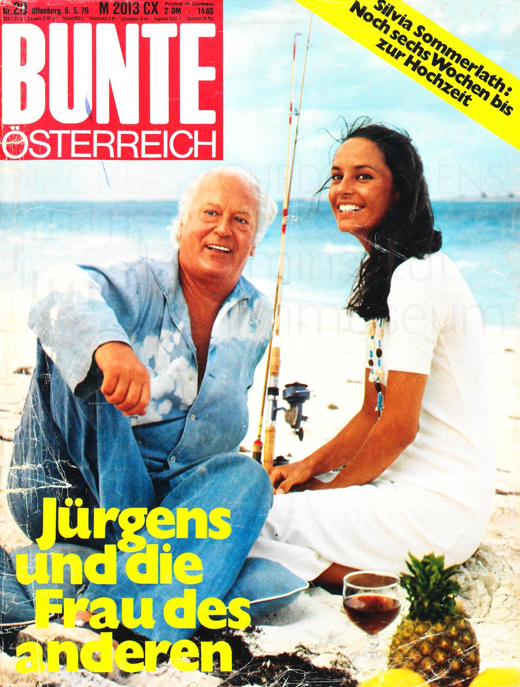 """Bunte: """"Jürgens und die Frau des anderen"""", Nr. 20, 1967"""