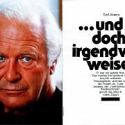 """Bunte Sonderheft: """"Curd Jürgens ...und doch irgendwie weise"""", 1983"""