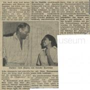 """Abendzeitung München: """"Meine Sklavin und ich"""", 30.6.1957"""