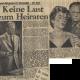 """BILD-Zeitung: """"Keine Lust zu Heiraten"""", 7.9.1957"""