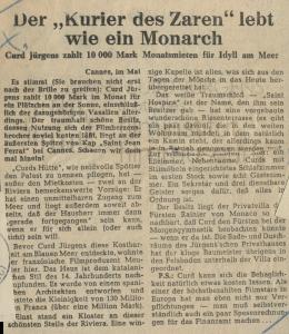 Neustädter Tageblatt: