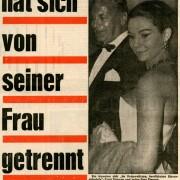 """""""Curd Jürgens hat sich von seiner Frau getrennt"""", 29.11.1971"""