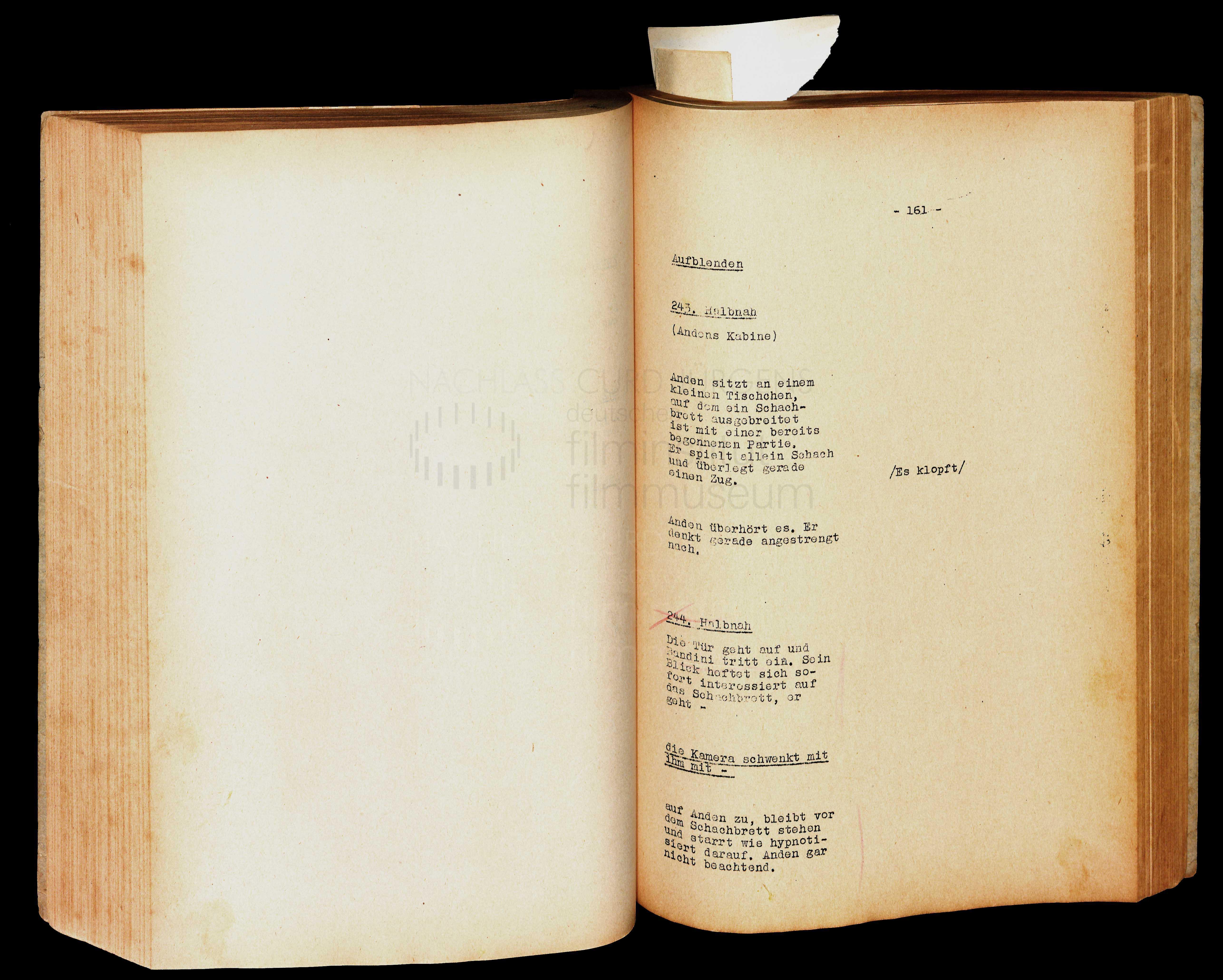 FRAUEN SIND KEINE ENGEL (1943) Drehbuch (Auszug)