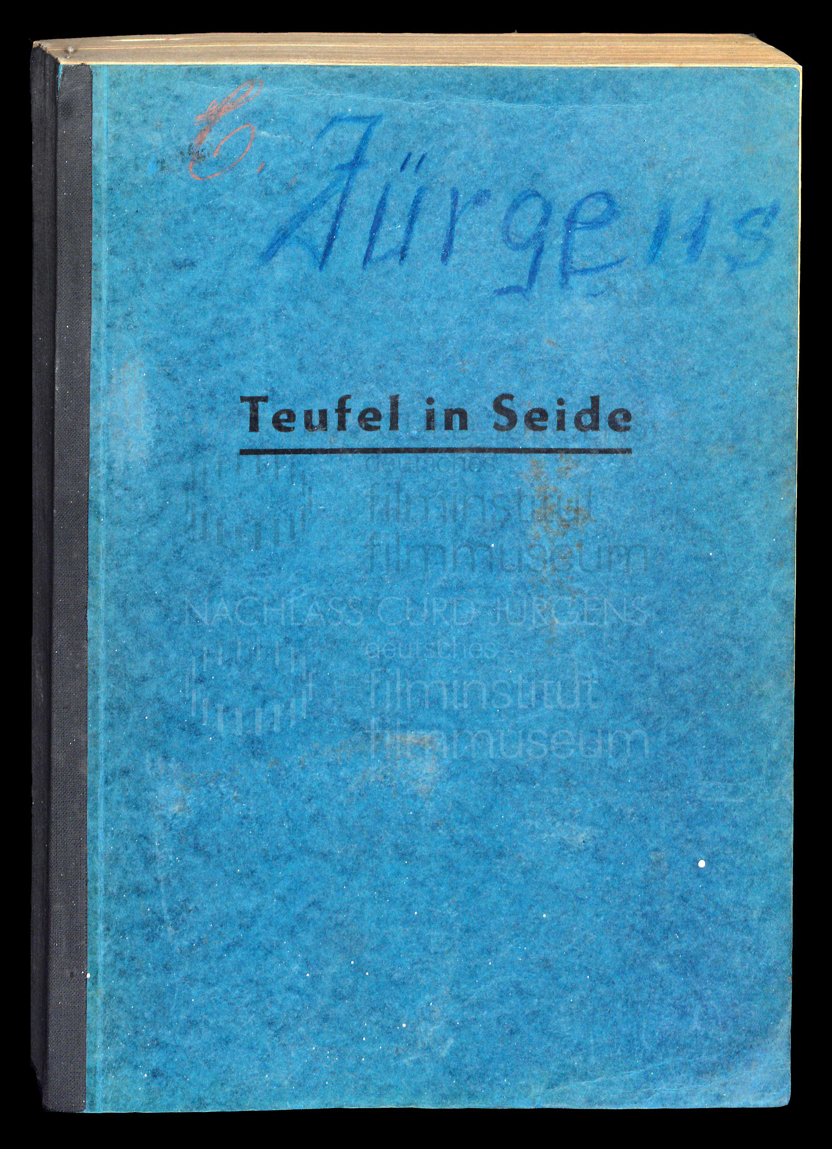 TEUFEL IN SEIDE (1956) Drehbuch (Auszug) 1