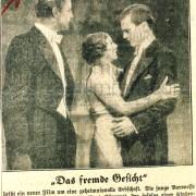 """Nachtausgabe Berlin: """"Das fremde Gesicht"""", 3.1.1936"""