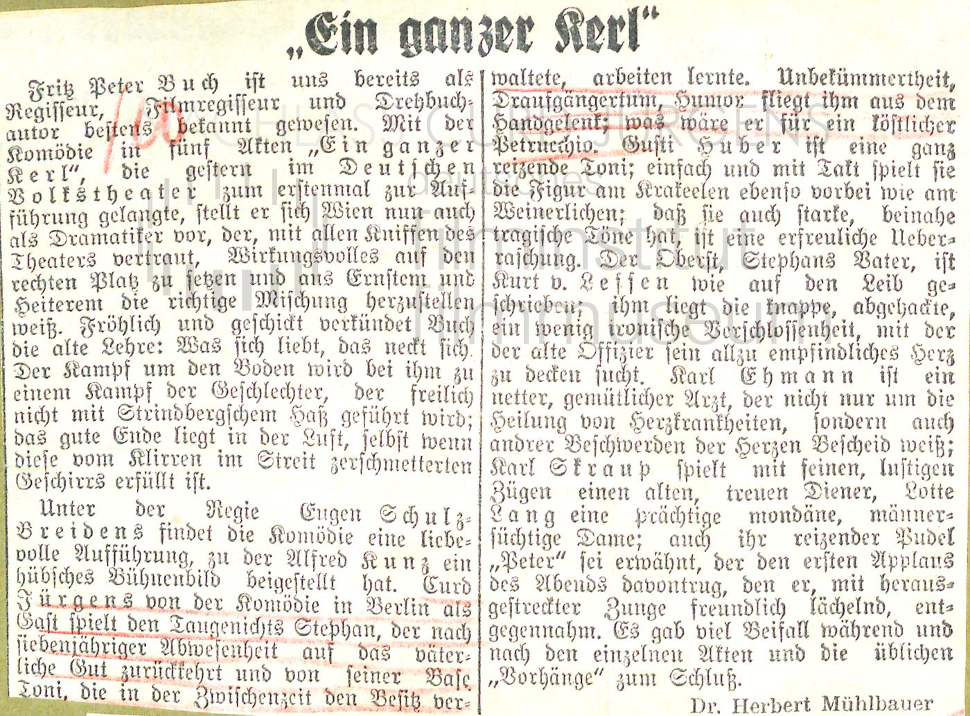 """N.N.: """"Ein ganzer Kerl"""", 1939"""