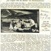 "Wiener Mittag: ""Theater, Romantik, Witz"", 29.6.1942"