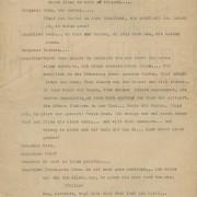 Dialoge zu einem Theaterstück, 1940er Jahre