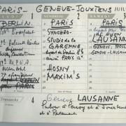 Terminkalender 1.7.-3.7.1965
