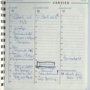 Terminkalender 15.1.-17.1.1970