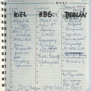 Terminkalender 5.3.-7.3.1970
