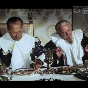 "GUSTAV ADOLFS PAGE (1960) Screenshot ""Bankett"""