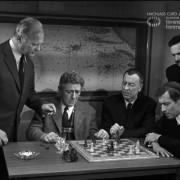 """SCHACHNOVELLE (1960) Screenshot """"Erste Partie"""""""