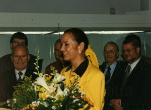Curd Jürgens exhibition opening, 1997